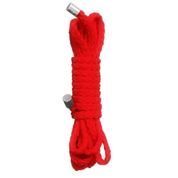 Ouch! Kinbaku Mini Bondage Seil - 1,5m - Red
