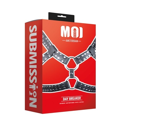 MOI - Day Breaker | Man's Body Harness - One Size - Adjustable