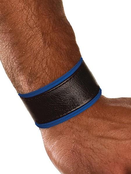 Colt Leather Wrist Strap - Blue