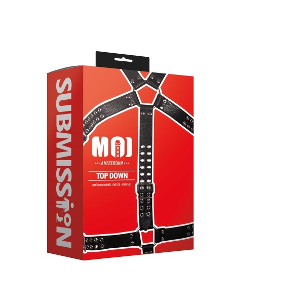 MOI - Top Down | Man's Body Harness - One Size - Adjustable